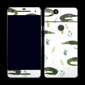 Crocodiles Skin Pixel 2
