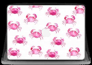 "Petits crabes roses Skin MacBook Pro Retina 13"" 2015"