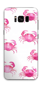 Petits crabes roses Skin Galaxy S8