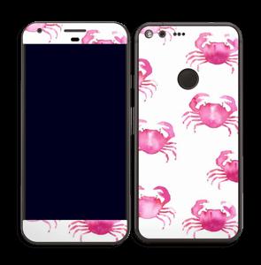 Petits crabes roses Skin Pixel XL
