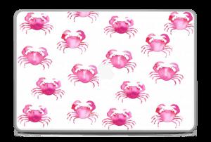 """Petits crabes roses Skin MacBook Pro 17"""" -2015"""