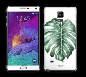 Monstera Deliciosa Skin Galaxy Note 4