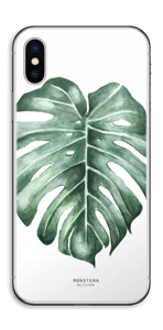 Monstera Deliciosa Vinilo  IPhone X