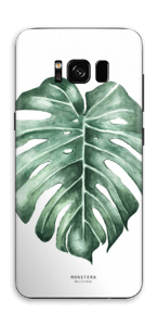 Monstera Deliciosa Vinilo  Galaxy S8
