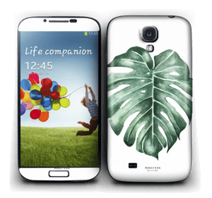Monstera Deliciosa Skin Galaxy S4