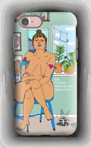 Gekreuzte Beine Handyhülle IPhone 7 tough