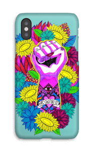 Flower Power cover IPhone X