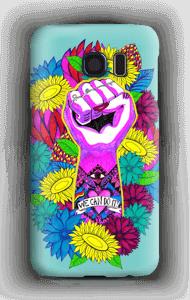 Power Flower case Galaxy S6