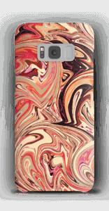 Flüssiges Marmor Handyhülle Galaxy S8