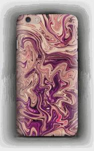 Liila marmori kuoret IPhone 6 Plus