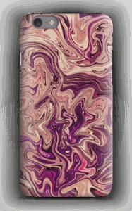 Lilla marmorvandfald cover IPhone 6s