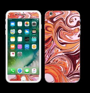 Flydende marmor Skin IPhone 6 Plus