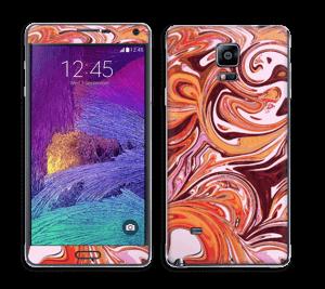 Flydende marmor Skin Galaxy Note 4