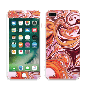 Flydende marmor Skin IPhone 7 Plus
