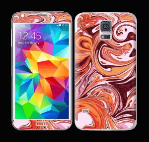 Flydende marmor Skin Galaxy S5