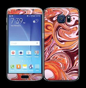 Flydende marmor Skin Galaxy S6