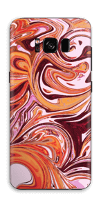 Marbre coulant Skin Galaxy S8
