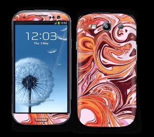 Flydende marmor Skin Galaxy S3