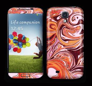 Liquid Marble Skin Galaxy S4