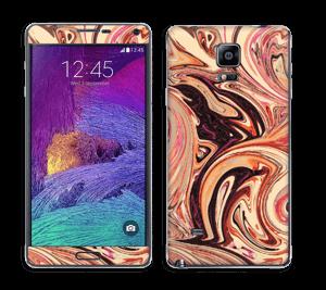Marmor 2.0- flydende! Skin Galaxy Note 4