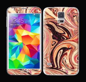 Marmor 2.0- flydende! Skin Galaxy S5