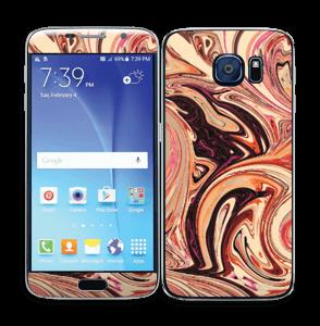 Marmor 2.0- flydende! Skin Galaxy S6