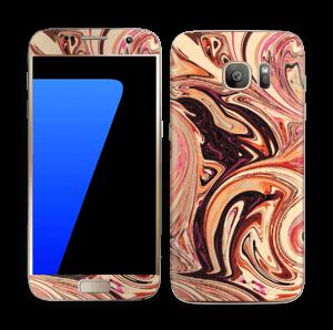Marmor 2.0- flydende! Skin Galaxy S7