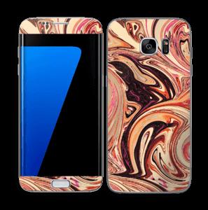 Marmor 2.0- flydende! Skin Galaxy S7 Edge