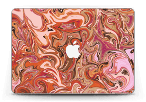 "Marbre Orange 2.0 Skin MacBook Pro Retina 13"" 2015"