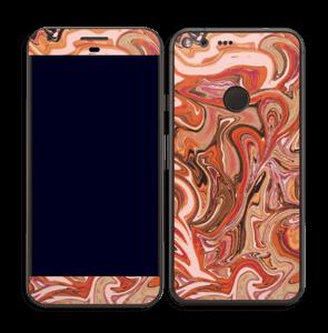 Marbre Orange 2.0 Skin Pixel XL