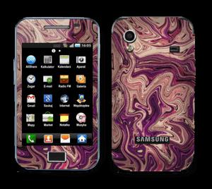 Liila marmori  tarrakuori Galaxy Ace