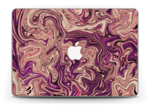"Liila marmori  tarrakuori MacBook Pro Retina 13"" 2015"