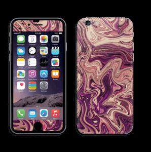 Liila marmori  tarrakuori IPhone 6/6s