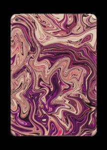 Liila marmori  tarrakuori IPad Air 2