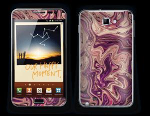 Liquid Marble IIII Skin Galaxy Note