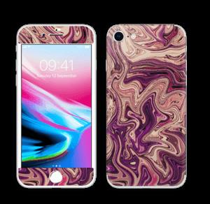 Liila marmori  tarrakuori IPhone 8