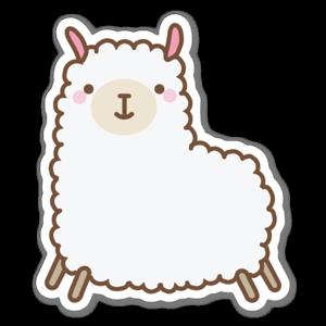 Cute Llama sticker