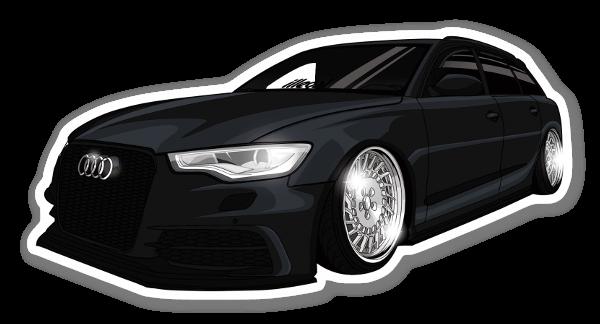 illegalfam Audi  sticker