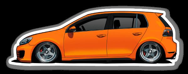 Beyers VW  sticker