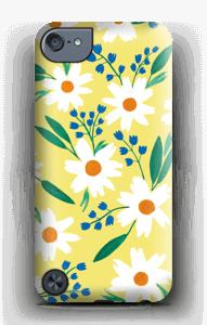 Valkoiset kukat kuoret IPod Touch 5