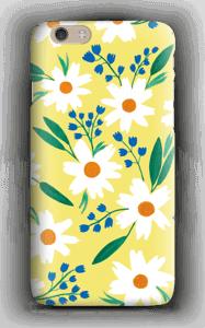 Valkoiset kukat kuoret IPhone 6