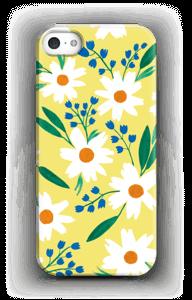 Valkoiset kukat kuoret IPhone SE