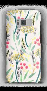 Kesäkukat kuoret Galaxy S8