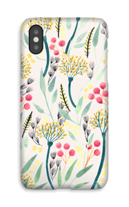 Summer flowers case IPhone X