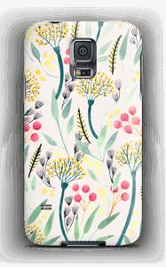 Kesäkukat kuoret Galaxy S5