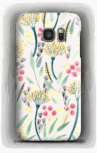 Kesäkukat kuoret Galaxy S7
