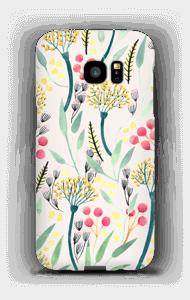 Sommerblumen Handyhülle Galaxy S7 Edge