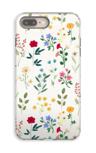 Spring Botanicals case IPhone 8 Plus tough