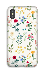 Spring Botanicals case IPhone X