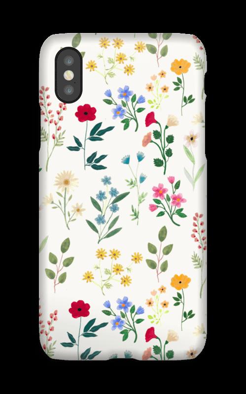 Spring Florals case IPhone X